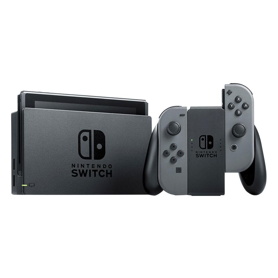 Máy Chơi Game Nintendo Switch Với Gray Joy-con (Xám) Japan Version - Hàng Nhập Khẩu