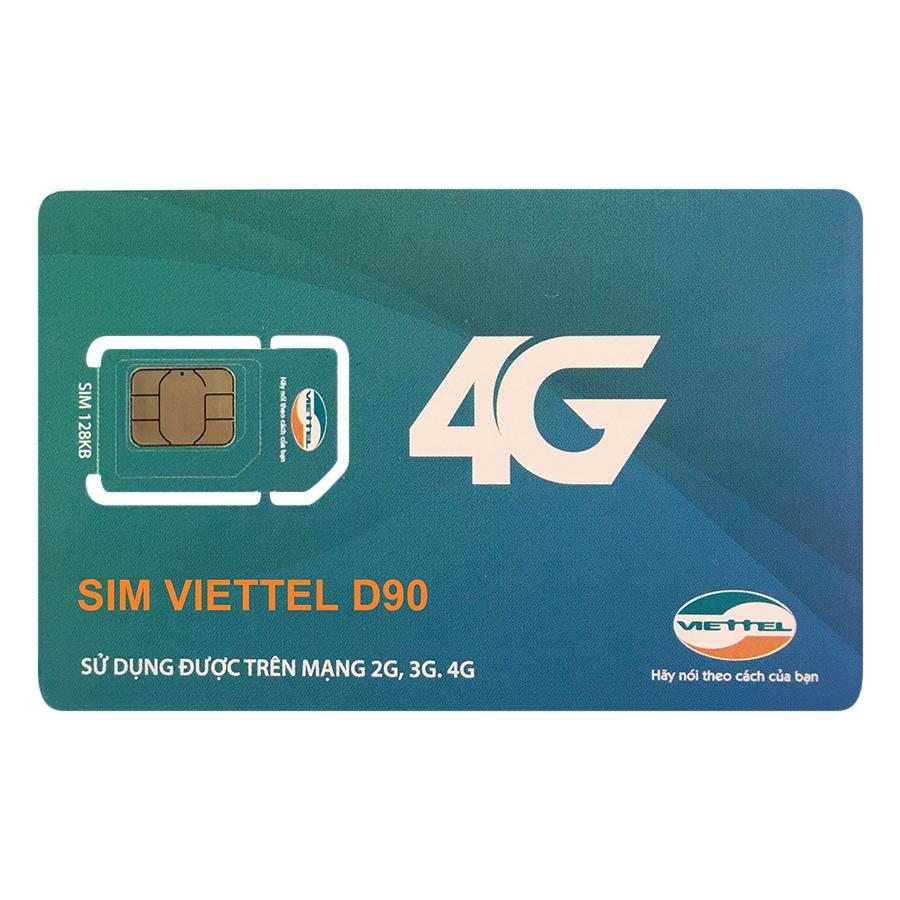 Sim 4G Viettel 10GB / Tháng (12 Tháng)