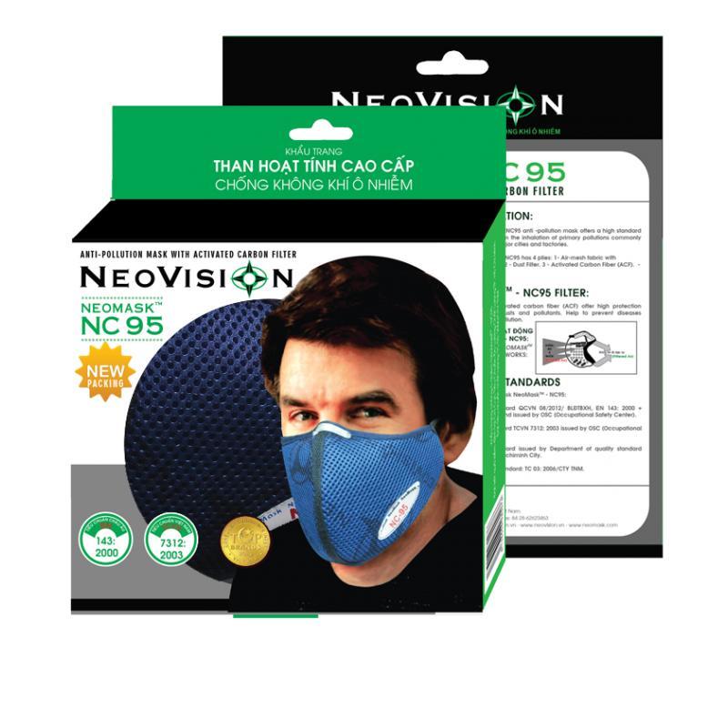 Khẩu trang NeoMask NC95 Than Hoạt Tính Chống Bụi Chính Hãng NeoVision