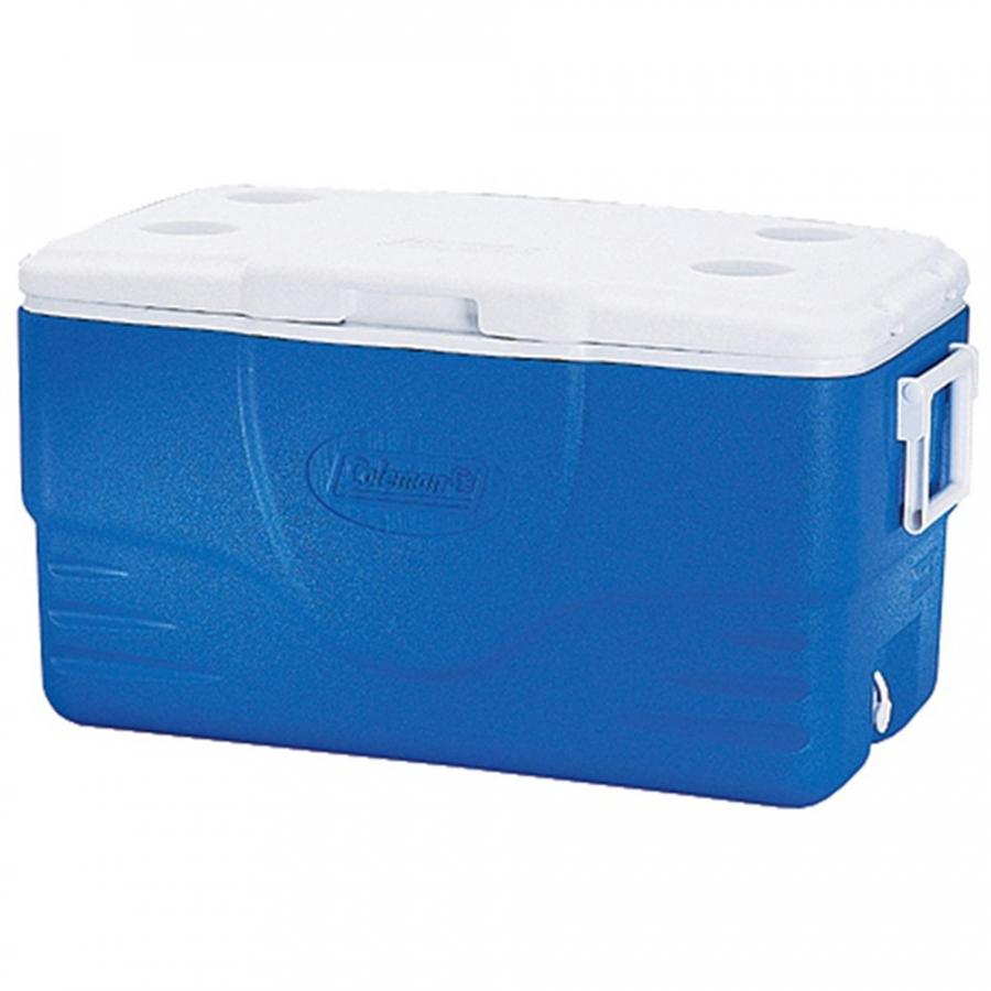 Thùng Giữ Nhiệt Coleman 3000000146 - 47.3L - Xanh - 50QT Cooler (Blue)