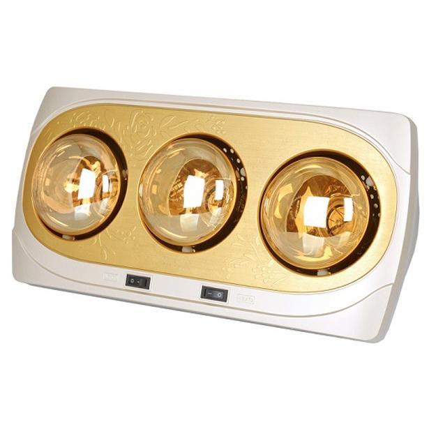 Đèn sưởi Hans Kottmann 3 bóng vàng K3BH