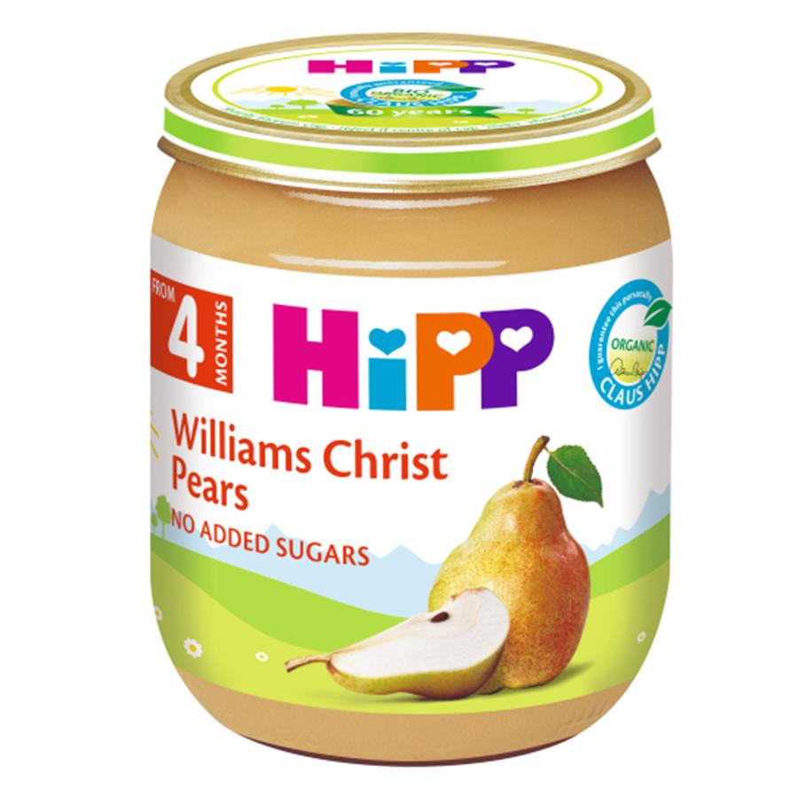 Dinh Dưỡng Đóng Lọ Lê Williams HiPP 125g - 4262