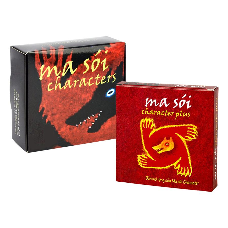 Combo Ma Sói Character + Bản Mở Rộng Việt Hóa
