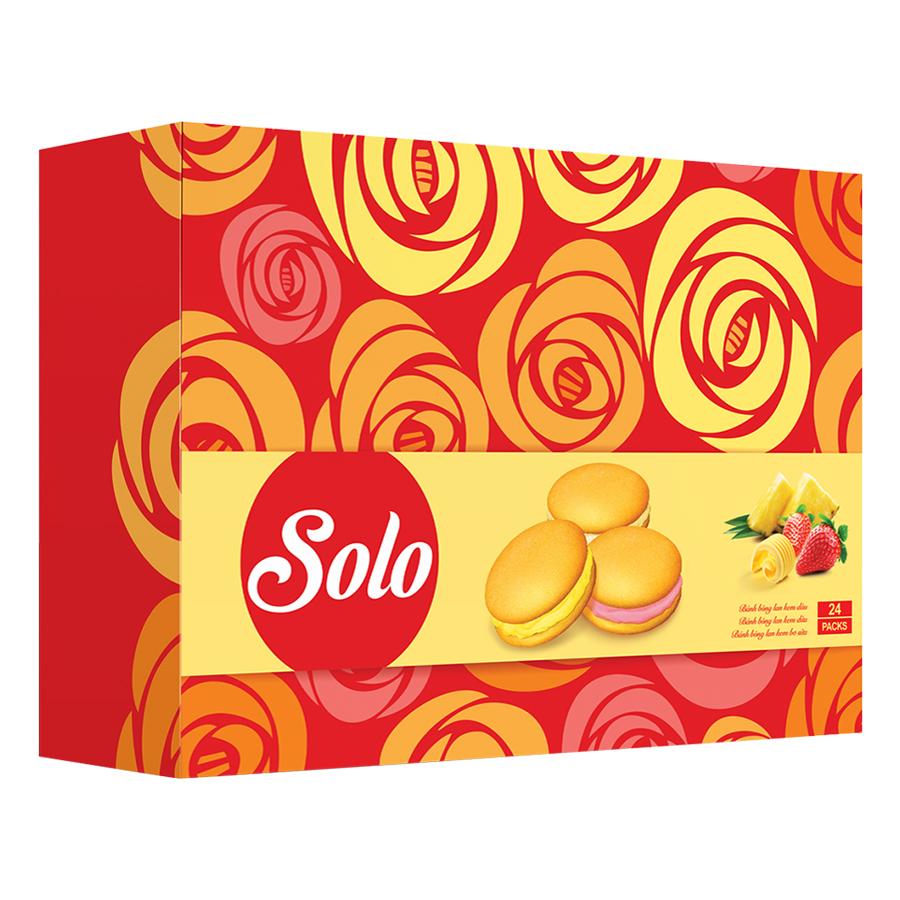 Hộp Bánh Solo (336g) - Tết 2018