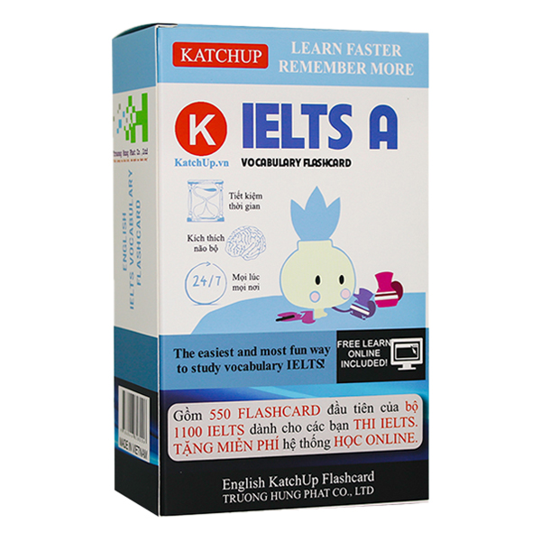 Combo Trọn Bộ KatchUp Flashcard IELTS - Standard