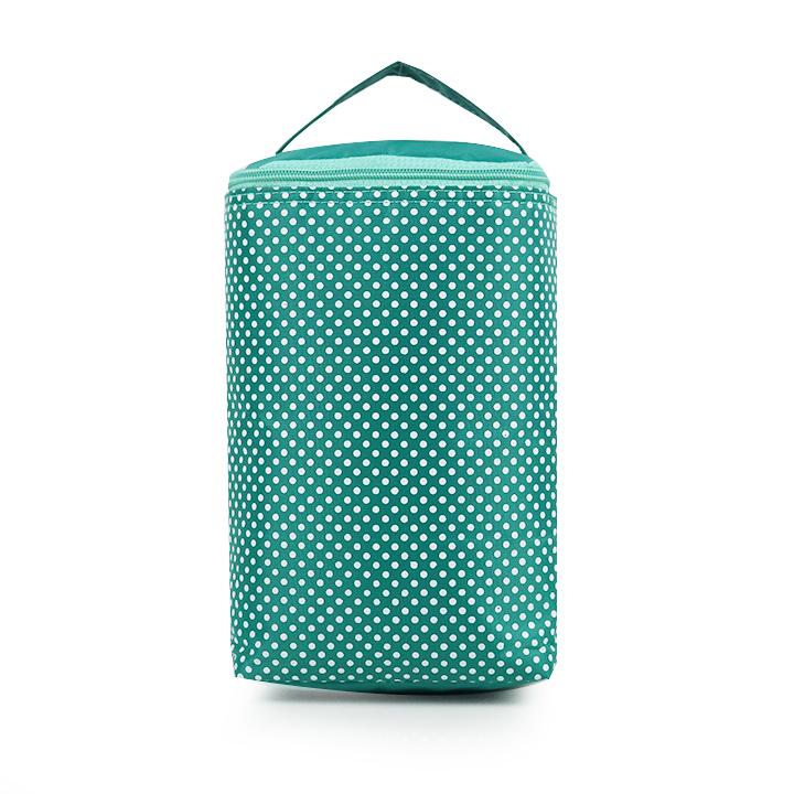 Túi giữ nhiệt kiểu đứng chấm bi mẫu lớn