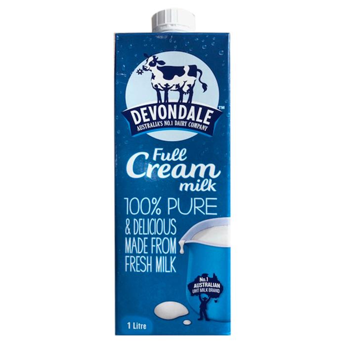 Hộp Sữa Nguyên Kem Devondale Fullcream 1L