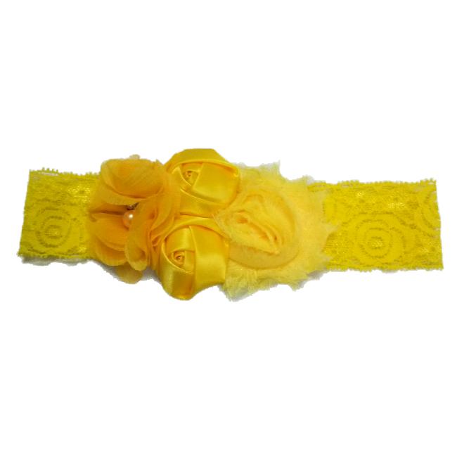 Băng đô đính hoa vải