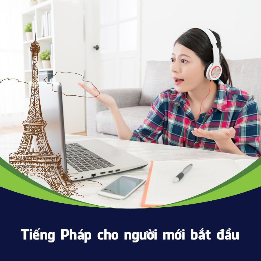 Bộ 3 Khóa Học Tiếng Pháp Cho Người Mới Bắt Đầu KYNA NN06