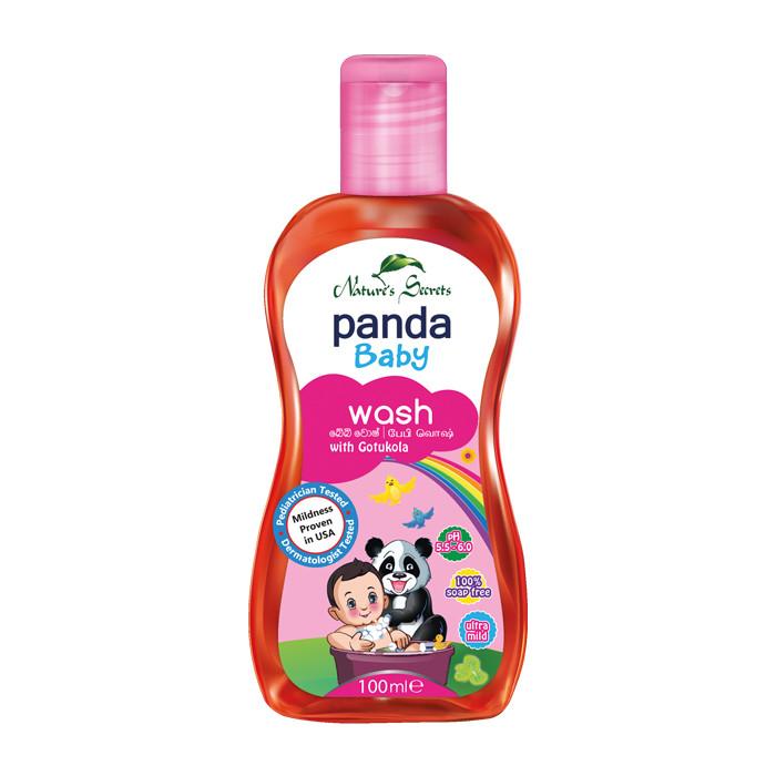Sửa tắm làm sạch và mềm da dành cho bé Panda Baby Wash 100ml