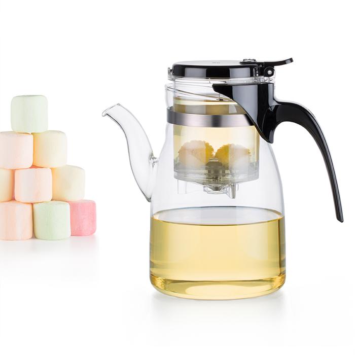 Bộ bình lọc trà thủy tinh Samadoyo NA002 900ml