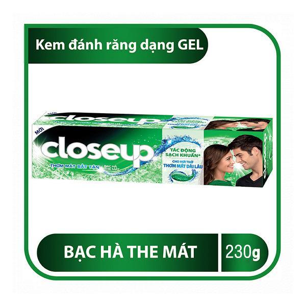 Kem Đánh Răng Close Up Bạc Hà 230g