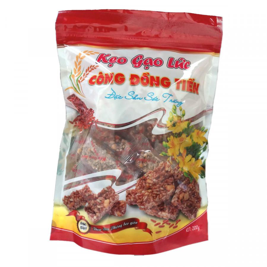 Kẹo gạo lức Công Đồng Tiến (200g)