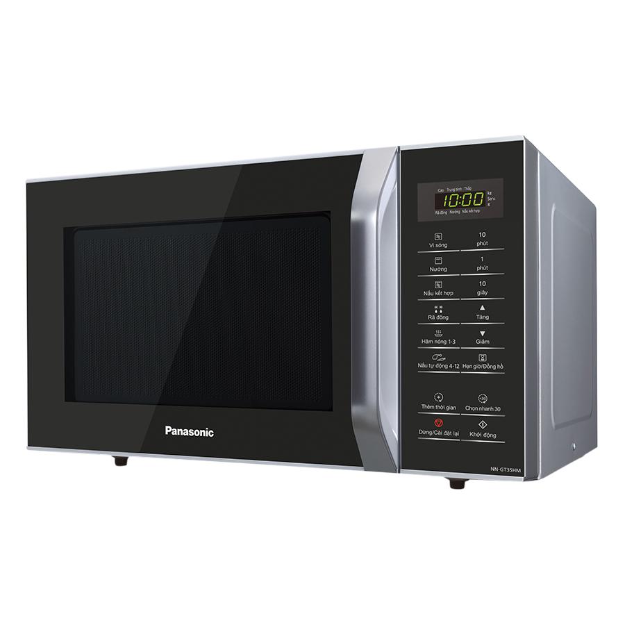 Lò Vi Sóng Panasonic NN-GT35HMYUE (23L) - Trắng Đen