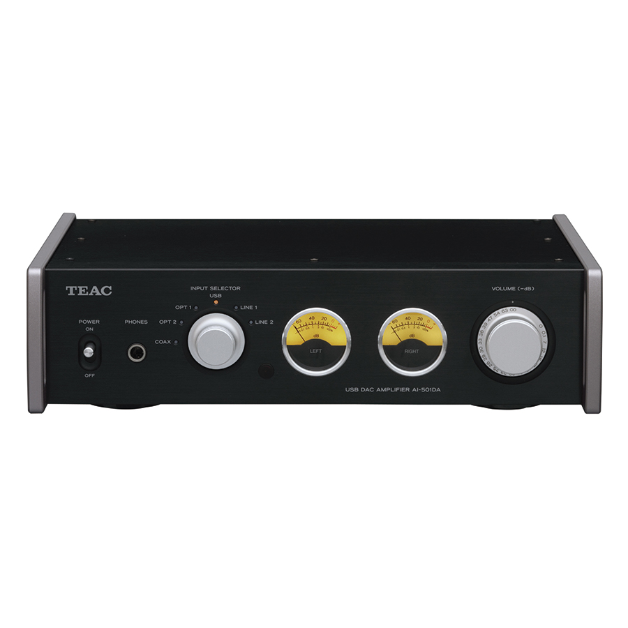 Amply Tích Hợp USB TEAC AI-501DA 55W - Đen