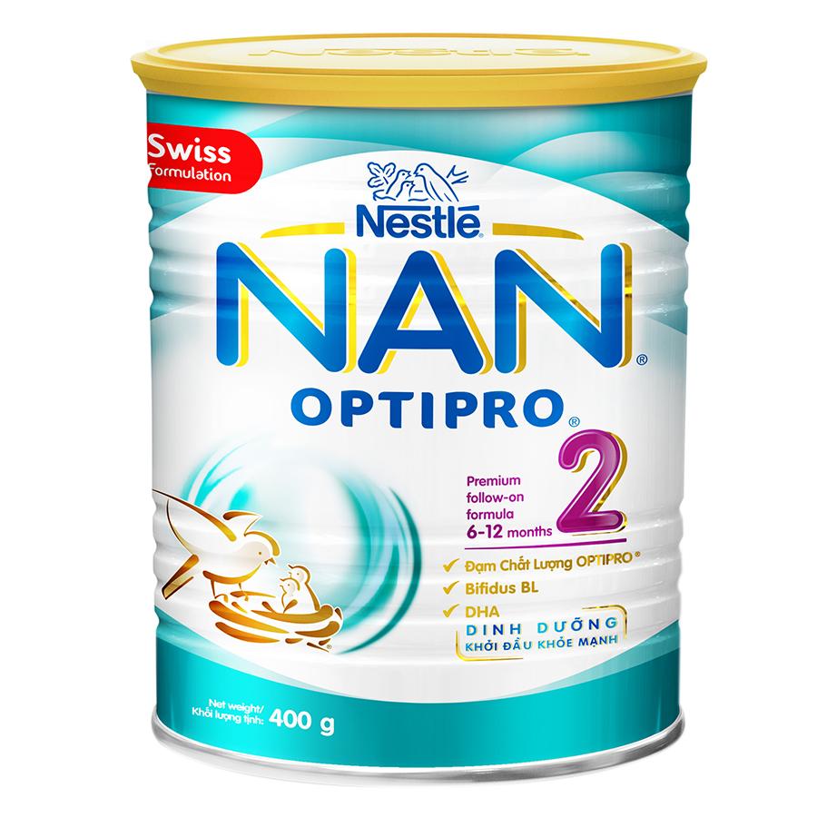 Sữa Bột Nestle NAN Optipro 2 (400g)
