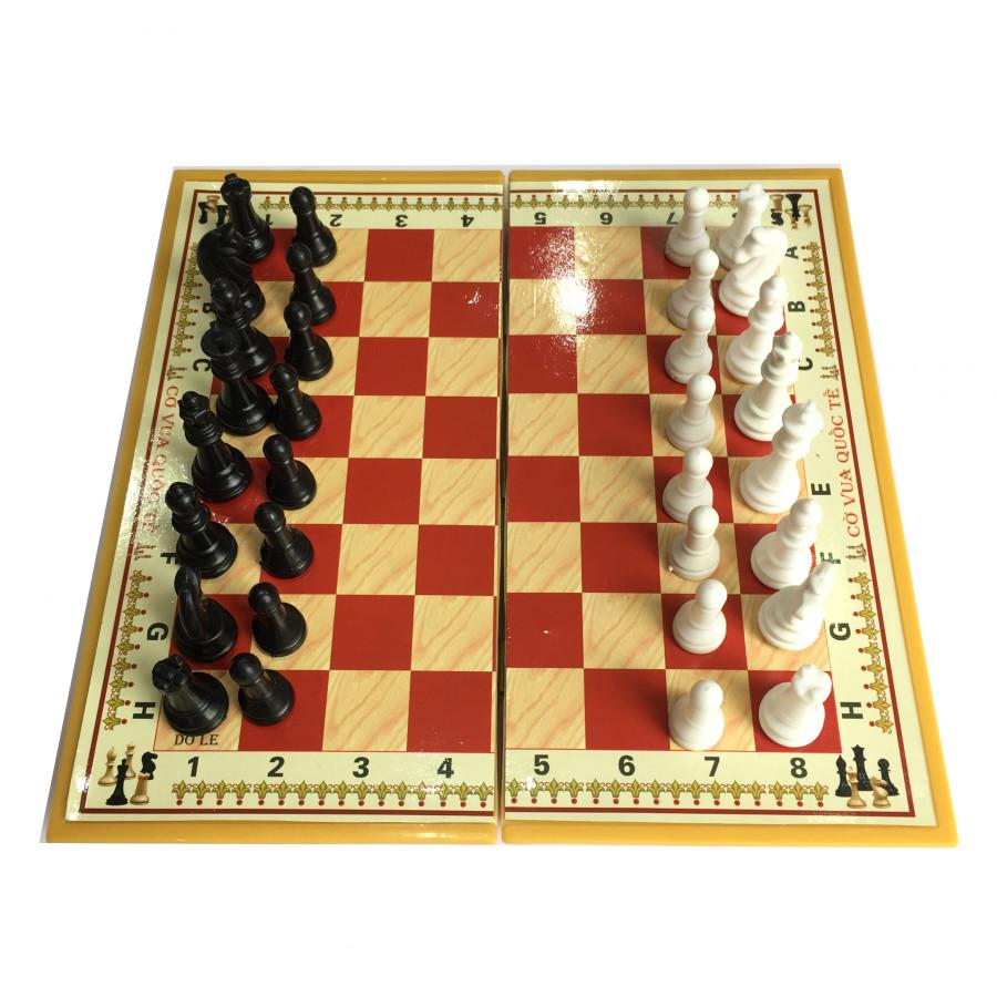 Bộ cờ vua nam châm cỡ đại 42cm x 42cm hộp đỏ