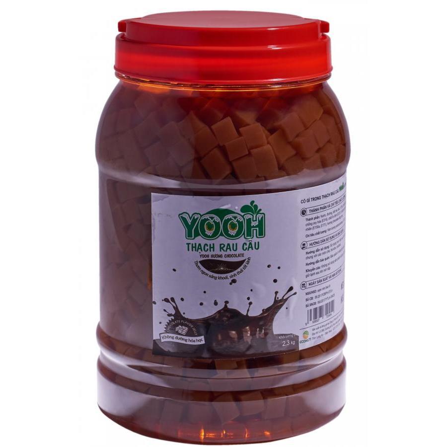 Thạch rau câu trà sữa YOOH - Vị Sô cô la 2.3 kg
