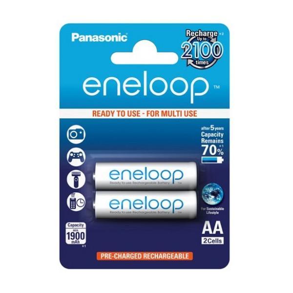 Bộ 2 Pin AA Panasonic Eneloop 2000mAh