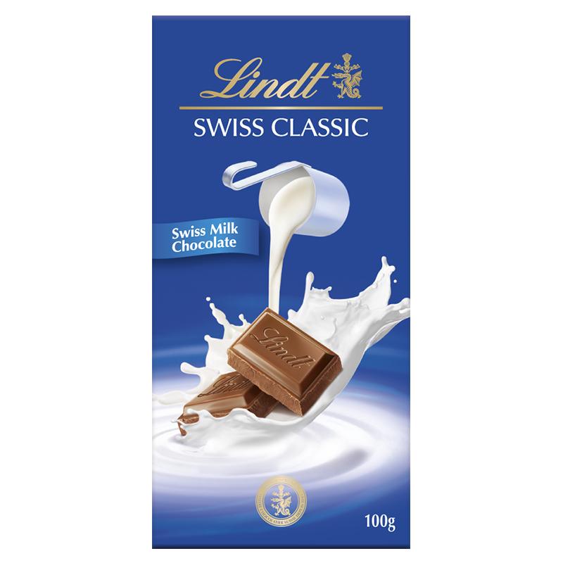 Socola Lindt Swiss Classic Sữa (100g)