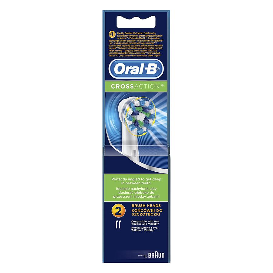 Đầu Chải Răng Oral-B Crossaction EB 50-2
