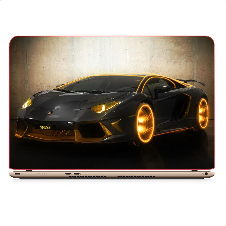 Miếng Dán Skin In Decal Dành Cho Laptop - Siêu xe Lamborghini 3