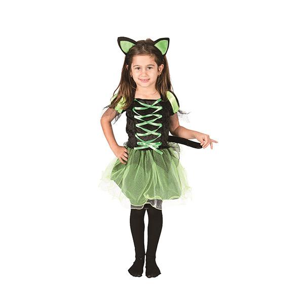Bộ Đồ hóa Trang Công Chúa Mèo Halloween Uncle Bills UH00795 - Xanh