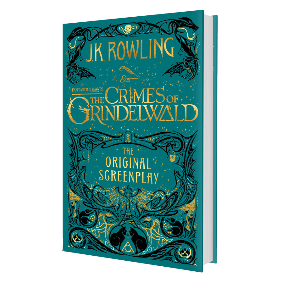 Harry Potter: Fantastic Beasts: The Crimes of Grindelwald - The Original Screenplay (Hardback)