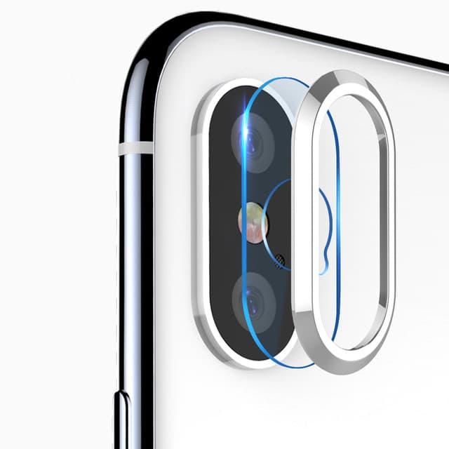 Miếng dán kính cường lực Camera và viền bảo vệ Camera iPhone X Totu mỏng 0.28 mm - Hàng chính hãng