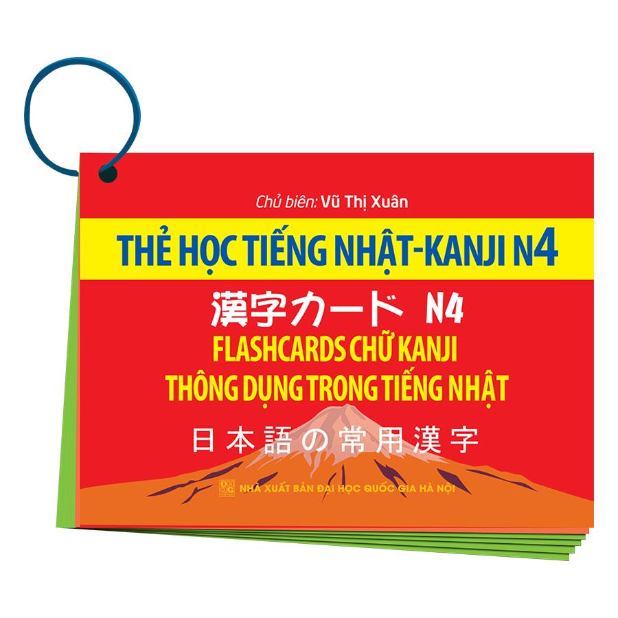 Thẻ Học Tiếng Nhật KANJI - N4