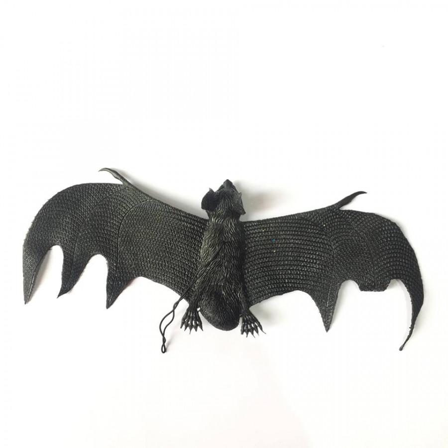 Dơi cao su 30cm trang trí Halloween