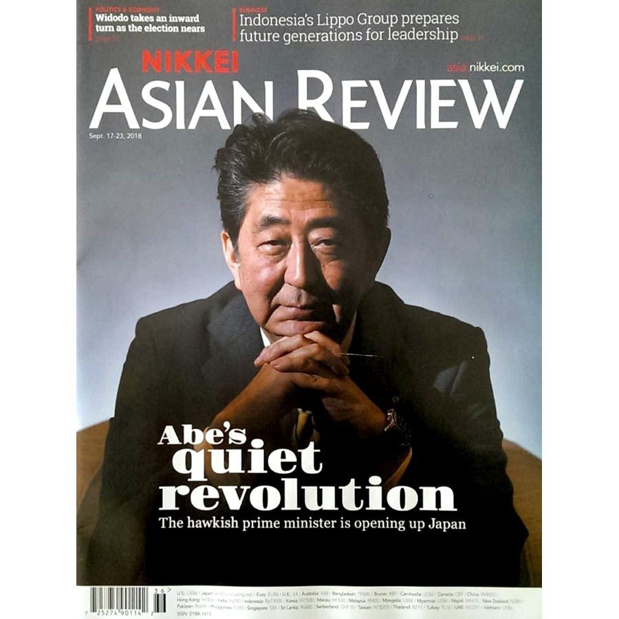 Nikkei Asian Review: Abe's quite revolution - 36