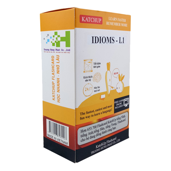 Bộ KatchUp Flashcard IDIOMS - Standard