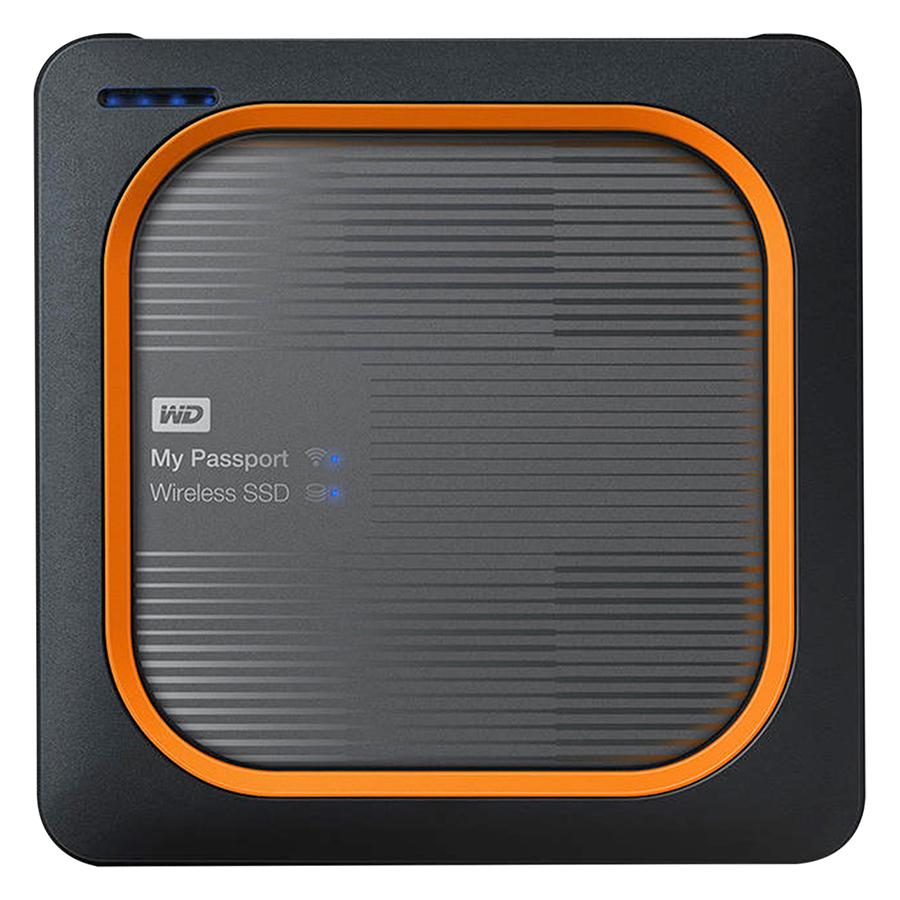 Ổ Cứng Di Động My Passport Wireless SSD 1TB - WDBAMJ0010BGY - Hàng Chính Hãng