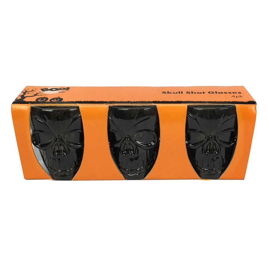 Bộ Ly Rượu Đầu Lâu Halloween Uncle Bills Uh00140 (3 Cái) - Giao ngẫu nhiên