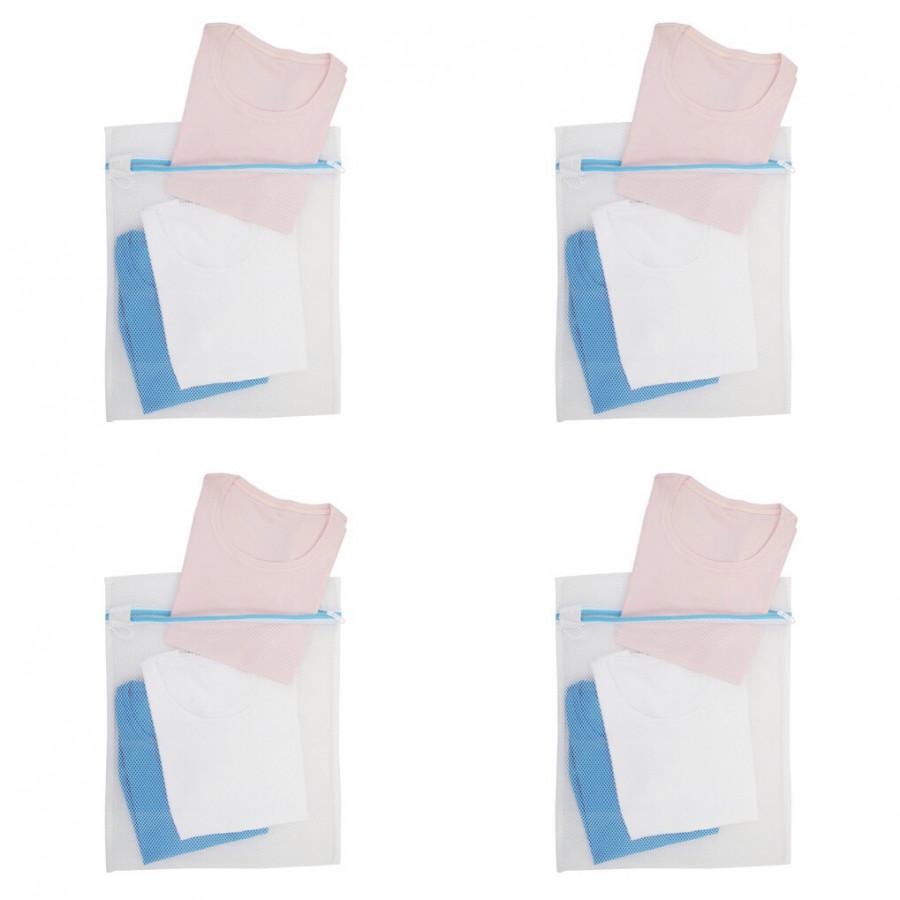 Combo: 4 Túi Lưới Giặt Quần Áo Ánh Dương AD8338 60*60 cm Tặng kèm Bông tắm