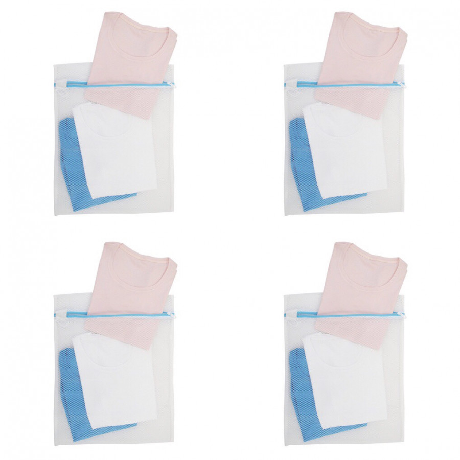 Combo: 4 Túi Lưới Giặt Quần Áo Ánh Dương AD8352 45*55 cm Tặng kèm Bông tắm