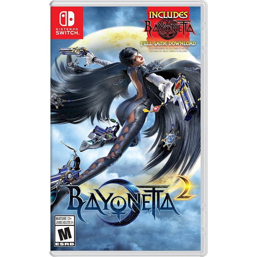 Đĩa Game Nintendo Switch Bayonetta 2