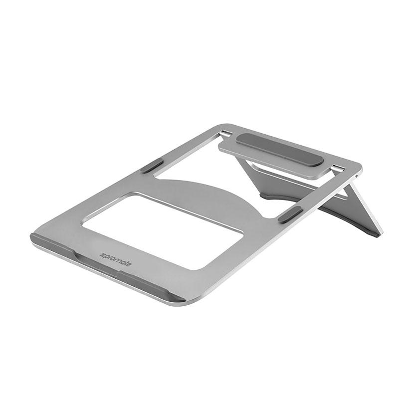 Giá đỡ Laptop Promate DeskMate-3 AluMinium - Bạc