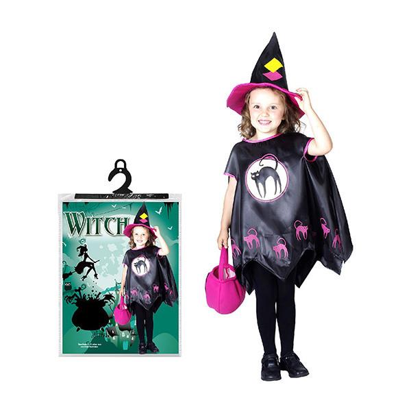 Bộ Đồ Hóa Trang Phù Thủy Halloween Uncle Bills UH00617 - Đen