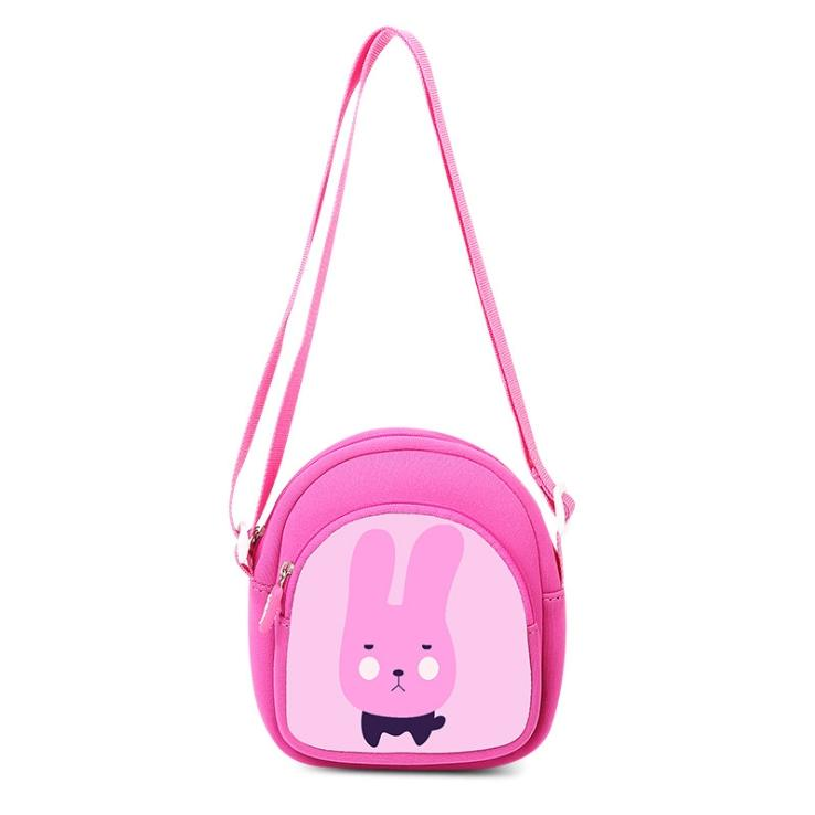 Túi đeo chéo trẻ em cao cấp (Thỏ hồng)