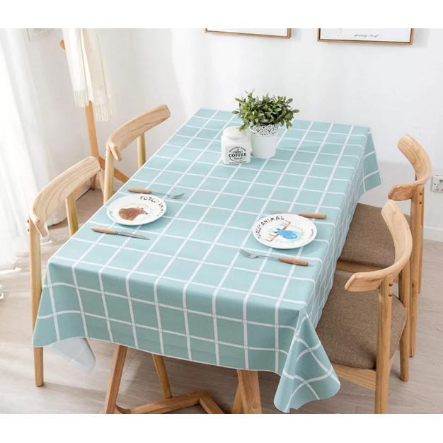 Khăn trải bàn ăn gia đình PVC cao cấp Love house decor GHS-62951