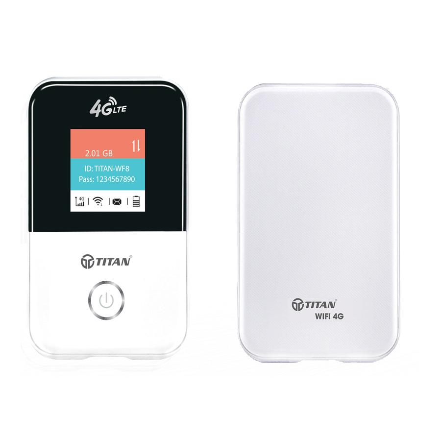 Bộ phát wifi 4G 150Mbps TITAN - WF8 - Hàng chính hãng