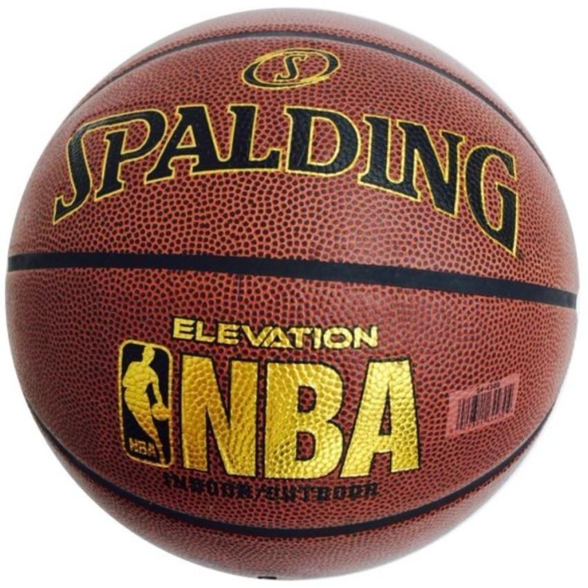 Bóng rổ số 7 Spalding NBA da PU cao cấp (Tiêu chuẩn thi đấu-V)