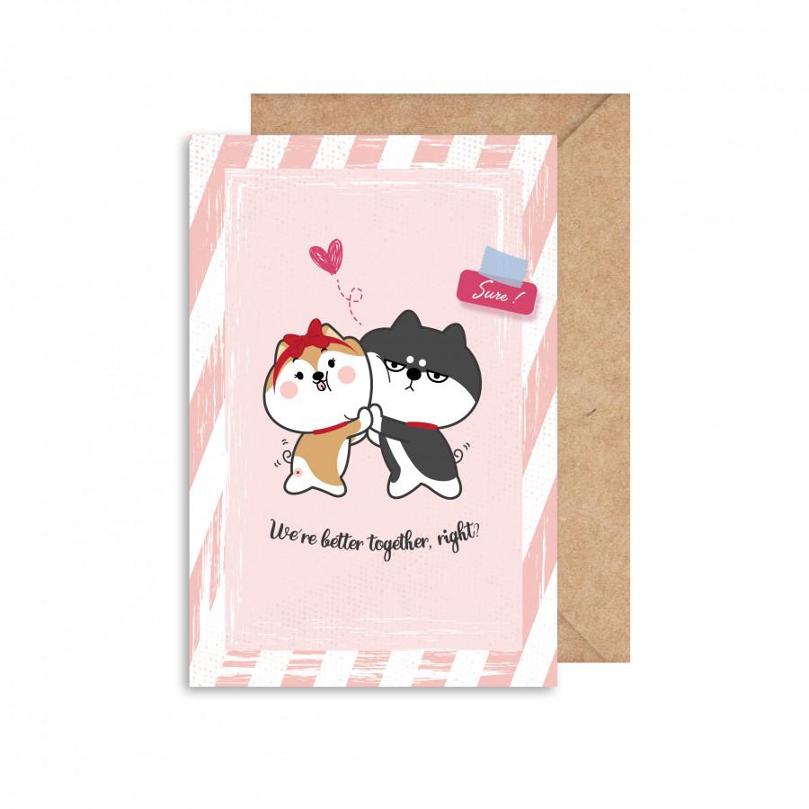 Thiệp Valentine mẫu 3 GC001100036