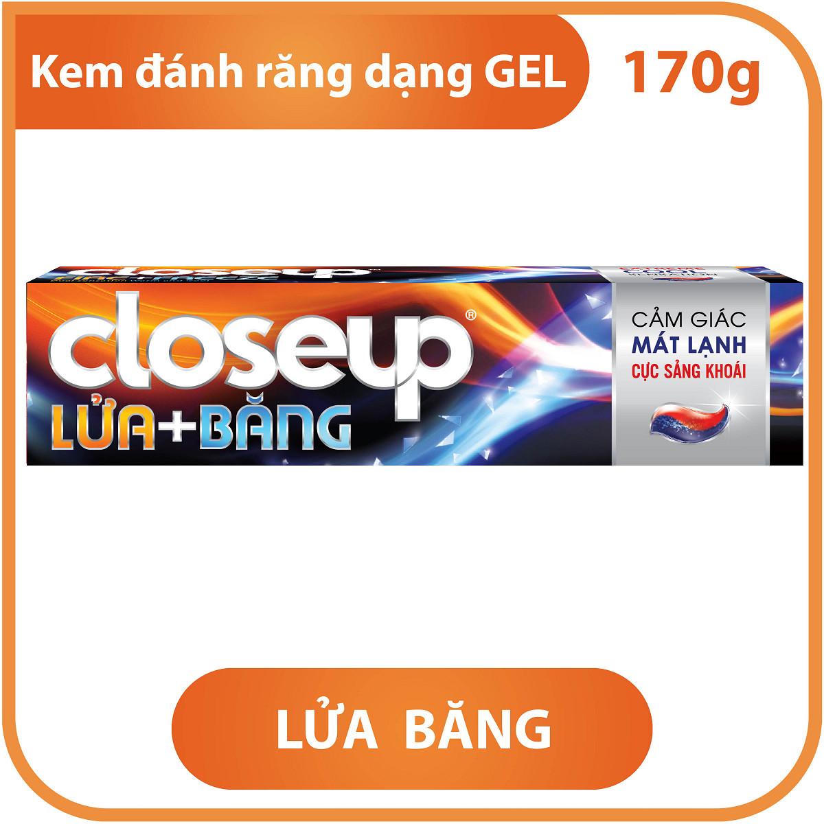 Kem Đánh Răng CloseUp Lửa Băng (170g)
