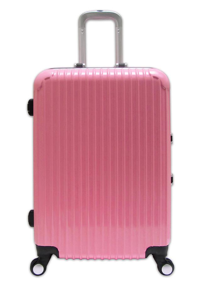 Vali nhựa khung nhôm size 20 và size 24 loại khóa chập TT014