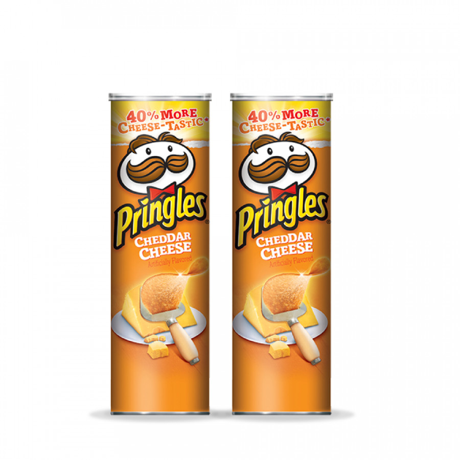 Combo 2 Khoai tây chiên Pringles  Cheddar Cheeze 158g