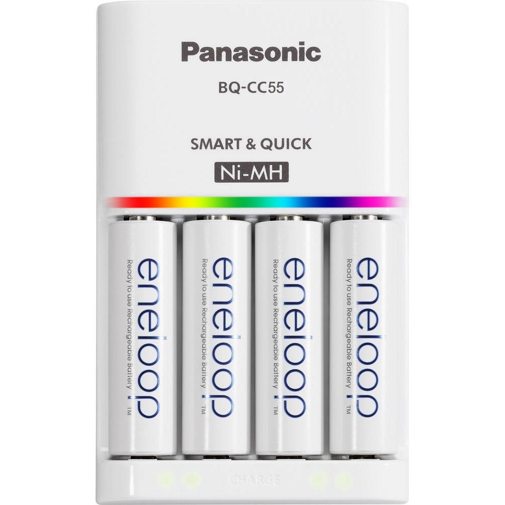 Bộ sạc nhanh và 4 viên Eneloop Panasonic 2000 mah