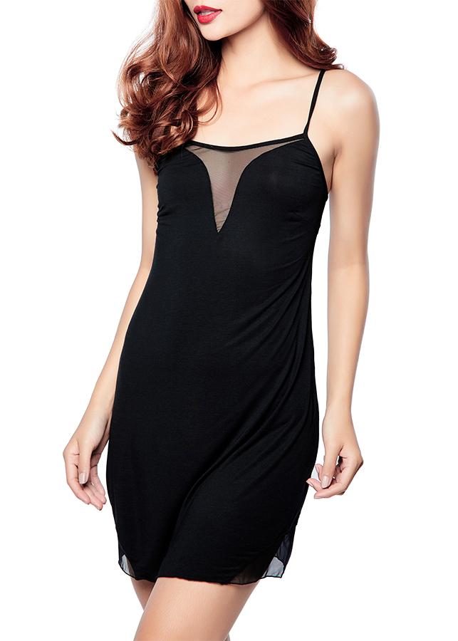 Đầm Ngủ Miley Lingerie DDT0100 (Đen)